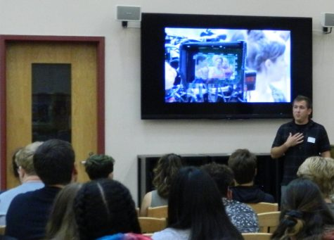 Film Insider Takes Students Behind the Scenes