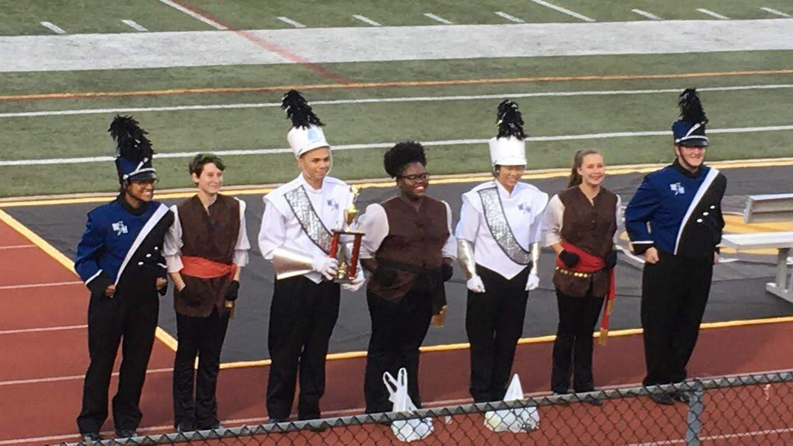 Marching Band at States Competition (Photo by Sofia Seneise)