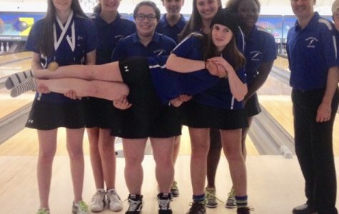 Girls' Bowling Team Reigns Undefeated