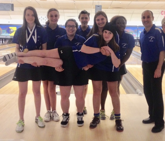 The+girls%27+bowling+team+won+the+New+Year+High+School+Championship+for+the+second+year+in+a+row+led+by+captains+Olivia+Ostrander+and+Sam+Irwin