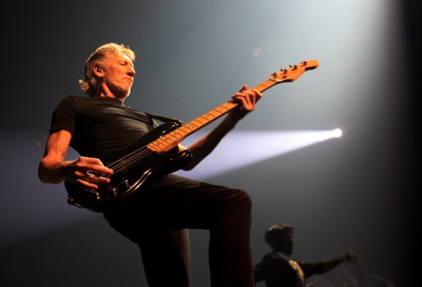 Roger Waters performed Pink Floyd's classic The Wall at the Palace of Auburn Hills in Michigan. (Kathleen Galligan/Detroit Free Press/MCT)