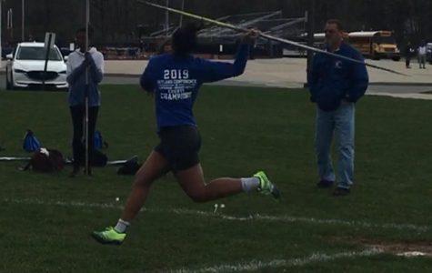 Mallard Breaks Javelin Record