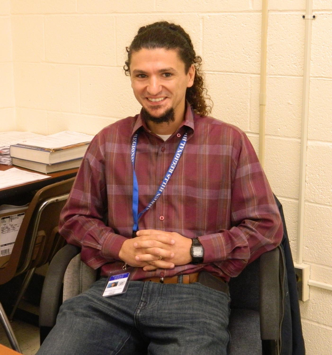 """""""I knew I wanted to teach since day one,"""" new math teacher Mr. Dell Elba said. """"It just kinda runs in the family."""""""