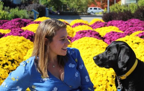 """""""The most spectacular moment that has ever happened to me throughout this journey with this organization is watching Ocala, my first pup, graduate with her handler from the program and officially become a guide dog,"""" Samantha Epstein said."""