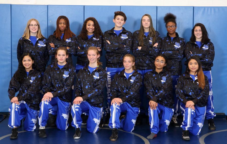 Girls Wrestling Starts Strong