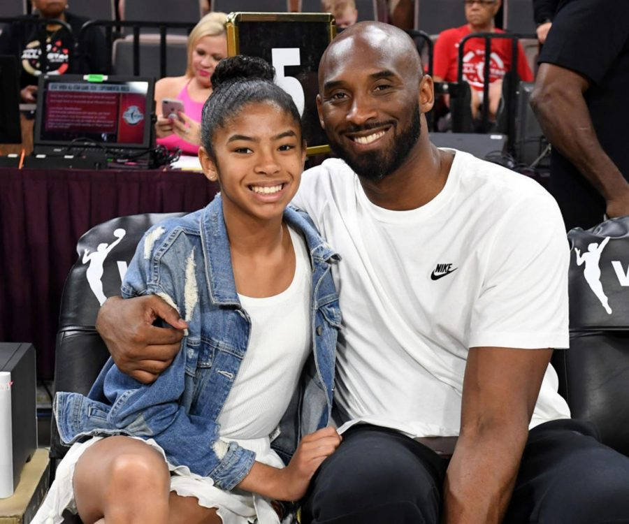 NBA+legend+Kobe+Bryant+and+his+daughter+GiGi+pose+for+a+picture+together+at+the+2019+WNBA+All-Star+Game+in+Las+Vegas.+The+talented+father+and+daughter+shocked+the+world+at+the+end+of+January+after+they+were+killed+in+a+helicopter+crash%2C+along+with+seven+others.+%28Ethan+Miller%2FGetty+Images%2FTNS%29
