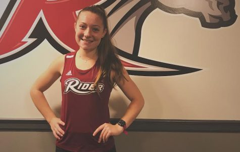 "Angela Riedinger is running Division One Cross Country and Track and Field at Rider University in 2020. Riedenger said that she chose Rider because she has ""loved it there ever since my sister decided to attend this school when she was a senior in high school. The atmosphere is great and very welcoming."""
