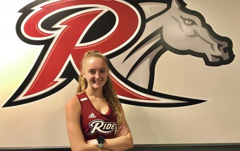 "Julie Ruskan will be running Division One Cross Country and Track and Field at Rider University in 2020. Ruskan is looking forward to making memories with her team. ""I'm super excited to run in college,"" she said. ""I'm looking forward to seeing what goals I can reach by the end of my college career, to make memories with my team, to push and challenge myself and to travel to different places for our meets.  I'll go to Disney for our championship my sophomore year, and we will travel to a bunch of different tracks in places like Boston and Virginia."""