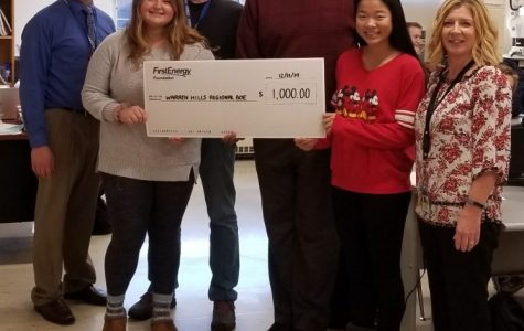 """""""The idea of the Warren Hills Computer Science Lending Library is for us to share our resources and our students' passions to help inspire elementary school students,"""" said Mr. Detrick. (Photo Courtesy of Daryl Detrick)"""