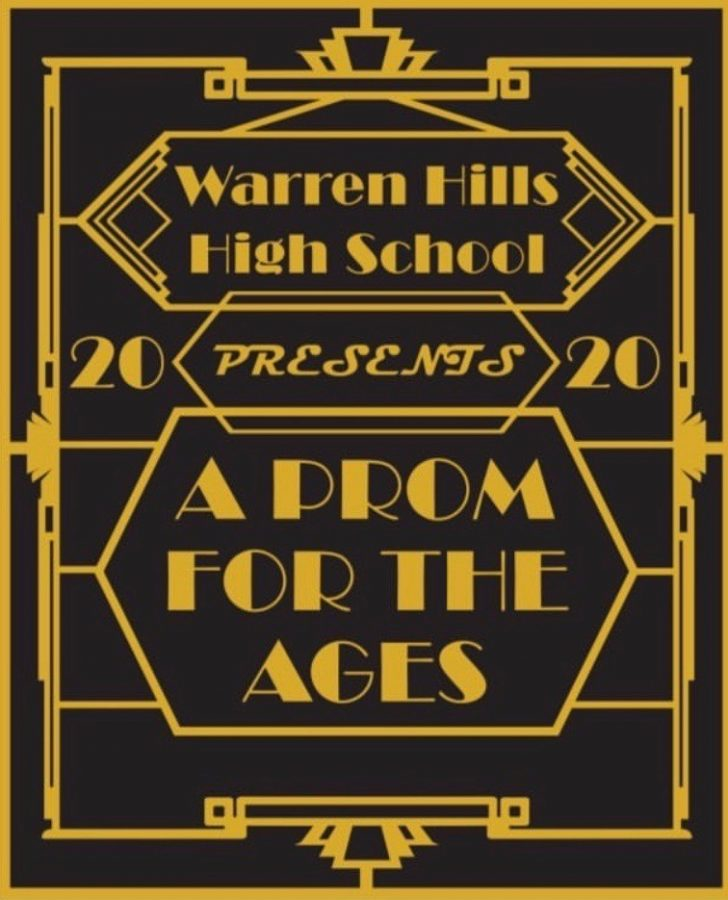 "The Class of 2020's Senior Prom, ""A Prom for the Ages,"" has been rescheduled to at least July 16. The Warren Hills Regional School District administration has expressed its commitment to still hold the prom, whose original date in late May was canceled due to an ongoing emergency school closure. Amidst the COVID-19 pandemic, this new July 16 date has provided a glimmer of hope for the 2019-2020 school year to culminate somewhat normally. ""Having prom on my birthday should be a cool wrap-up to the school year,"" senior Aidan McHenry said. ""We'll at least have one event to remember the end of our senior year.""  (Photo courtesy of Senior Class Advisor Heather Wight)"