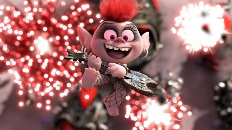 Queen Barb (voiced by Rachel Bloom) makes her debut in Trolls World Tour. (MCT/DreamWorks Animation)
