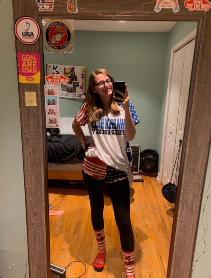 """Julia Webber will be playing Division Three Field Hockey at Rowan University in 2020. """"My older brother Jake has inspired me,"""" she said. """"He has always been great at what he does and what he tries, so I"""