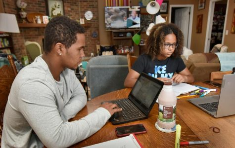Online schooling caused by the coronavirus pandemic has caused many students to struggle with keeping up with assignments. (MCT/Florida Times)