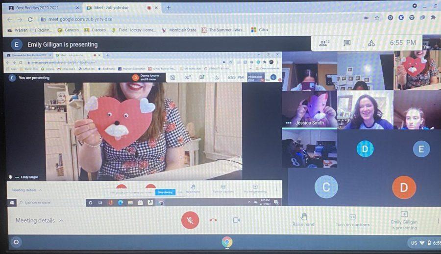 Virtual Valentine's Day with Best Buddies