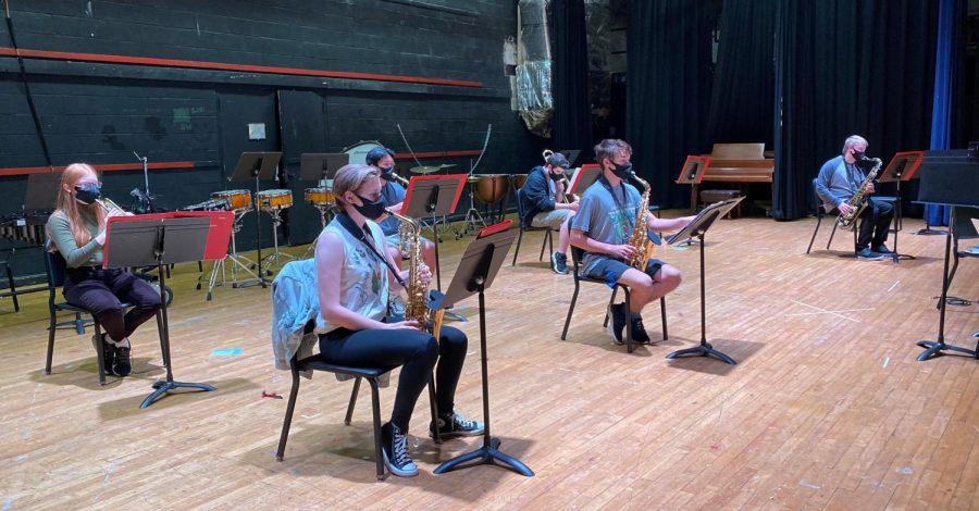 Jazz+Ensemble+Prepares+for+Annual+Concert